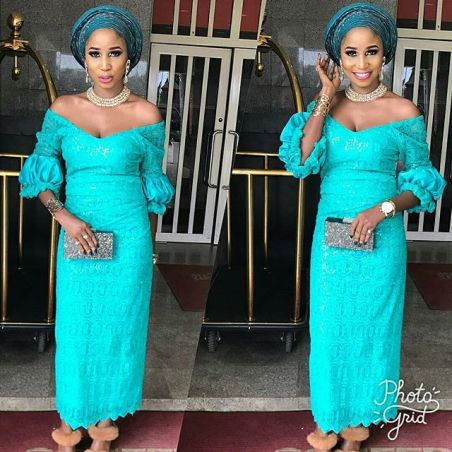 Image result for asoebi iro and blouse styles